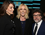 Tina Fey, Jane Krakowski and Jeff Richmond attends the 34th Annual Artios Awards at Stage 48 on January 31, 2019 in New York City.