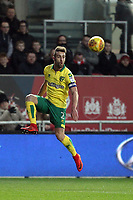 Ivo Pinto of Norwich City with the ball during Bristol City vs Norwich City, Sky Bet EFL Championship Football at Ashton Gate on 13th January 2018