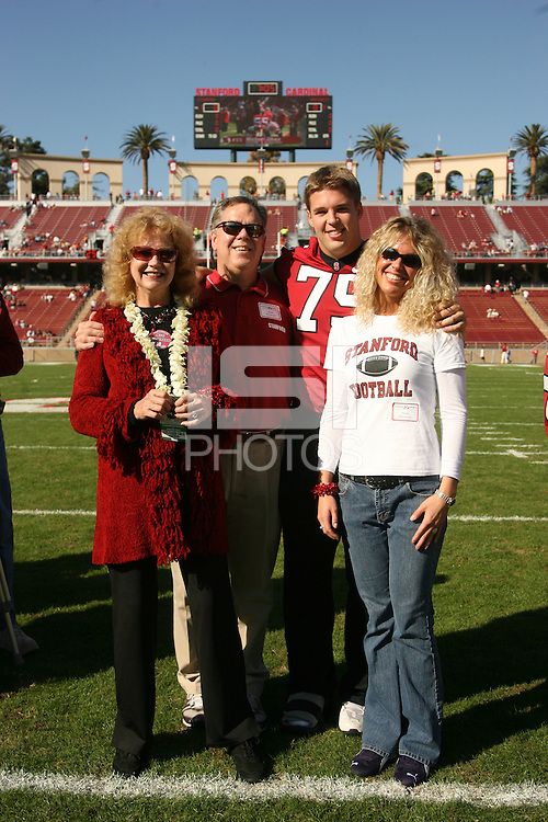 18 November 2006: Matt McClernan during Stanford's 30-7 loss to Oregon State at Stanford Stadium in Stanford, CA.