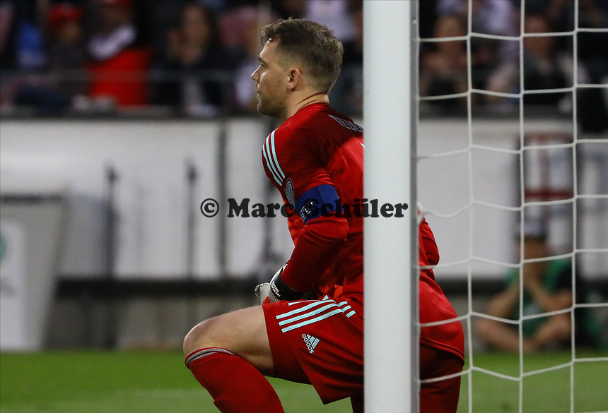 Torwart Manuel Neuer (Deutschland Germany) - 11.06.2019: Deutschland vs. Estland, OPEL Arena Mainz, EM-Qualifikation DISCLAIMER: DFB regulations prohibit any use of photographs as image sequences and/or quasi-video.