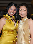 Cherry Lindgao and Veronica galligo pictured at Cian Orenia's baptism party in the Glenside hotel. Photo: Colin Bell/pressphotos.ie