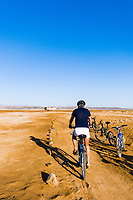 Biking in the Eastern Desert