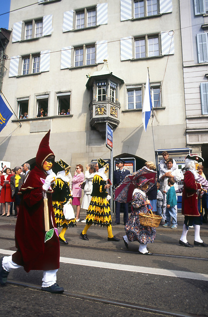 Sechselauten Celebration, Zurich, Switzerland