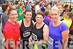Jacinta Walsh, Ann Marie O'Hara, Mary Harris, Karen O'Carroll, pictured at the Carers 10k run on Sunday.