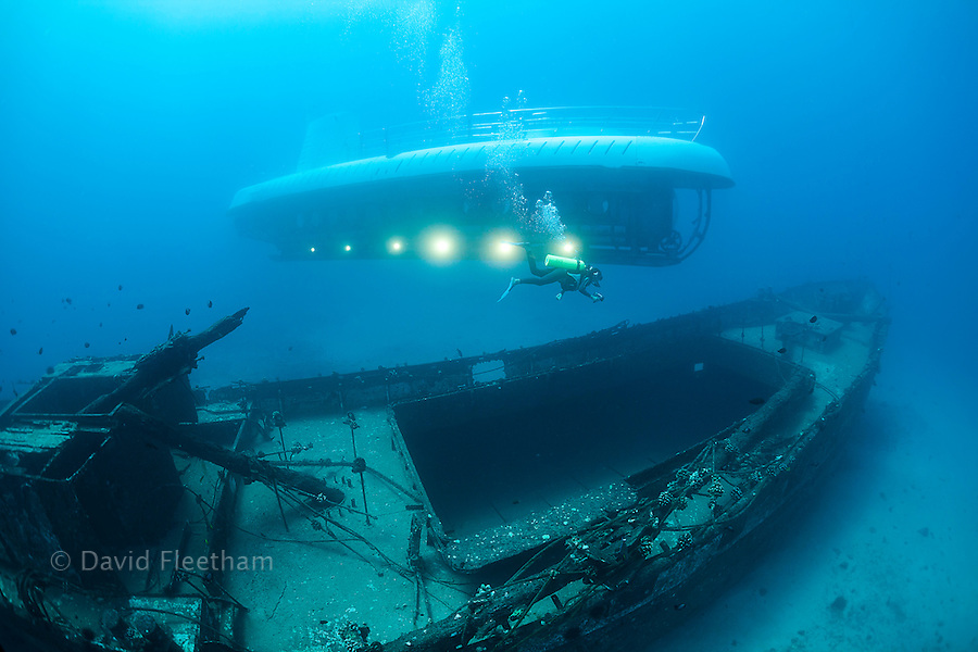 The Carthaginian, a Lahaina landmark, was sunk as an artifical reef off Lahaina, Maui, Hawaii in December 2005. The Atlantis submarine visites the site several times every day.