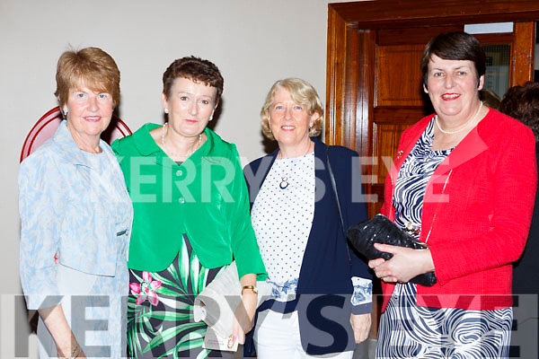 Kay Spillane, Joan Cashman, Noreen O'sullivan and Kathleen Walsh at the Models in Recovery fashion show on a Tuesday night