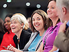 Jeremy Corbyn MP <br /> speech to the Labour Women's Conference, Brighton, Great Britain <br /> 26th September 2015 <br /> <br /> <br /> Kezia Dugdale MSP<br /> leader of Scottish Labour <br /> <br /> <br /> Photograph by Elliott Franks <br /> Image licensed to Elliott Franks Photography Services