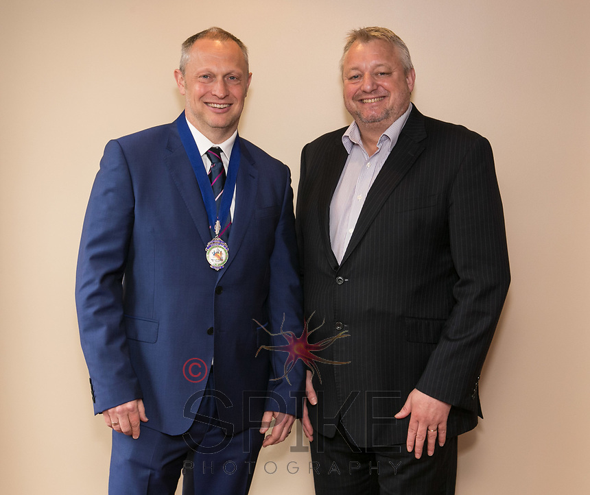 President Mark Deakin and Vice President Richard Cooper