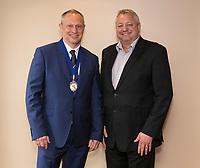 President Mark Deakin and Vice President Richard Cooper