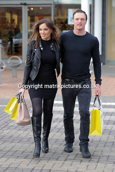 EXCLUSIVE ALL ROUND PICTURE: MATRIXPICTURES.CO.UK<br /> PLEASE CREDIT ALL USES<br /> <br /> WORLD RIGHTS <br /> <br /> Pregnant former TOWIE reality TV star Maria Fowler and her boyfriend Kelvin Batey are spotted shopping for prams, clothes and other baby essentials at the Nottingham branch of Mamas And Papas.<br /> <br /> Appropriately the glamour model and her beau announced her pregnancy on Mothering Sunday. <br />  <br /> MARCH 8th 2016<br /> <br /> REF: LTN 16645