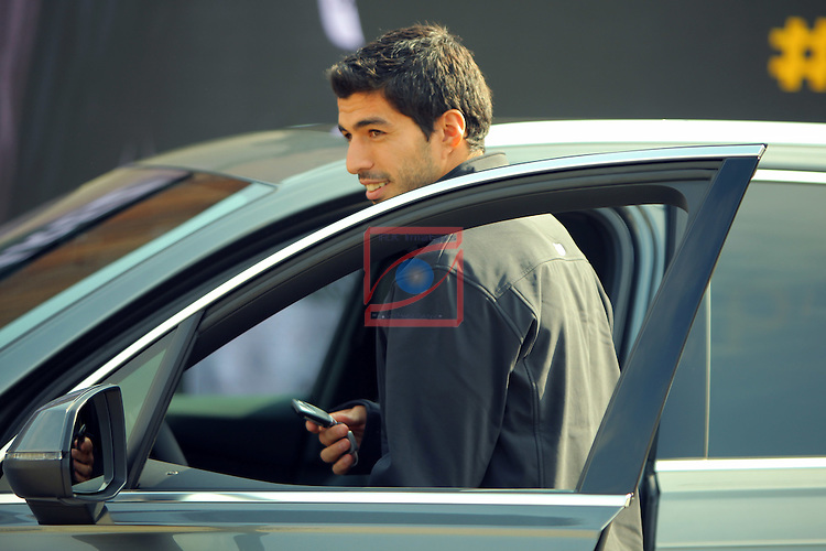 AUDI Premium Partner del FC Barcelona.<br /> Luis Suarez.