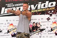 24.07.2012. Presentation at the Madrid Film Academy of the movie 'Impavido&acute;, directed by Carlos Theron and starring by Marta Torne, Selu Nieto, Nacho Vidal, Carolina Bona, Julian Villagran and Manolo Solo. In the image Nacho Vidal  (Alterphotos/Marta Gonzalez) /NortePhoto.com*<br />  **CREDITO*OBLIGATORIO** *No*Venta*A*Terceros*<br /> *No*Sale*So*third* ***No*Se*Permite*Hacer Archivo***No*Sale*So*third*&Acirc;&copy;Imagenes*con derechos*de*autor&Acirc;&copy;todos*reservados*.