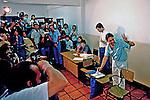 Fernando Henrique Cardoso, FHC votando nas eleições de 1985 em São Paulo. Foto de Juca Martins..