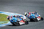 Jerez. Spain. 06/04/2014. CEV moto3 race in Jerez circuit. Fabio Quartararo. Maria Herrera.