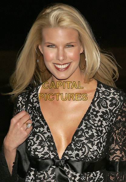 "BETH OSTROSKY.""Basic Instinct 2"" NY Premiere at Loews Lincoln Square Theatre, New York, NY, USA..March 27th, 2006.Photo: Jackson Lee/Admedia/Capital Pictures.Ref: JL/ADM.headshot portrait black lace.www.capitalpictures.com.sales@capitalpictures.com.© Capital Pictures."