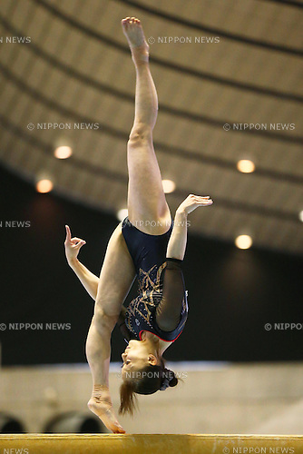 Rie Tanaka (JPN), .May 4, 2012 - Artistic gymnastics : .The 51st NHK Cup, Women's Individual All-Around 1st Day .at Yoyogi 1st Gymnasium, Tokyo, Japan. .(Photo by Daiju Kitamura/AFLO SPORT) [1045]