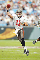 Rob Johnson In an NFL game played at Ericsson Stadium where the the Tampa Bay Buccaneers beat the Carolina Panthers 12-9