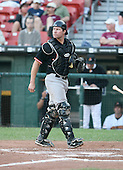 J.R. House of the Norfolk Tides vs. the Buffalo Bisons:  June 26th, 2007 at Dunn Tire Park in Buffalo, NY.  Photo copyright Mike Janes Photography 2007.