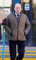 BNPS.co.uk (01202 558833)Pic:  RogerArbon/BNPS<br /> <br /> Trevor Beale at Poole magistrates court.<br /> <br /> A millionaire who butchered protected trees that blocked out the sunlight to his two balconies and patio has been ordered to pay almost £60,000.<br /> <br /> Trevor Beale breached a Tree Preservation Order (TPO) by destroying the canopies of the 60ft tall Scots Pines at the back of his luxury home in Sandbanks, Poole, Dorset.<br /> <br /> In doing so he improved the natural light on his property's rear patio and two balconies as well as increased the value of his £1.2m property by 3.5 per cent.<br /> <br /> Beale, 58, should have sought permission from the local authority before carrying out work on the mature trees, one of which was in a neighbouring garden.<br /> <br /> He pleaded guilty to two charges of contravening tree preservation regulations at a previous hearing.