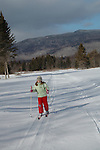 Emma Shapera.Cross Country Skiing.Mount Washington Hotel.Bretton Woods, New Hampshire..... .