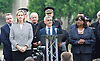 Vigil for people killed &amp; injured in the London Bridge terror attack on 3rd June 2017 <br /> at Potter's Fields, City Hall, London, Great Britain <br /> 5th June 2017 <br /> <br /> Sadiq Khan <br /> Mayor of London <br /> <br /> Amber Rudd <br /> Home Secretary <br /> <br /> Diane Abbott <br /> Shadow Home Secretary <br /> <br /> <br /> <br /> <br /> Photograph by Elliott Franks <br /> Image licensed to Elliott Franks Photography Services