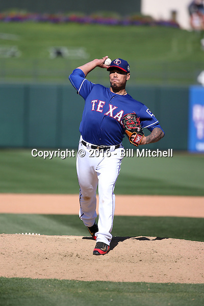 Keone Kela - Texas Rangers 2016 spring training (Bill Mitchell)