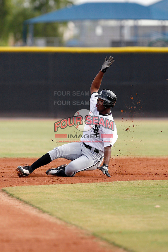Juan Silverio - Chicago White Sox 2009 Instructional League .Photo by:  Bill Mitchell/Four Seam Images..