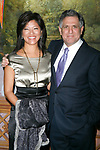 Leslie Moonves & Julie Chen attending the Neighborhood Playhouse School of the Theatre's 80th Anniversary Gala and Reunion at Tavern On The Green Restaurant in New York City.<br />