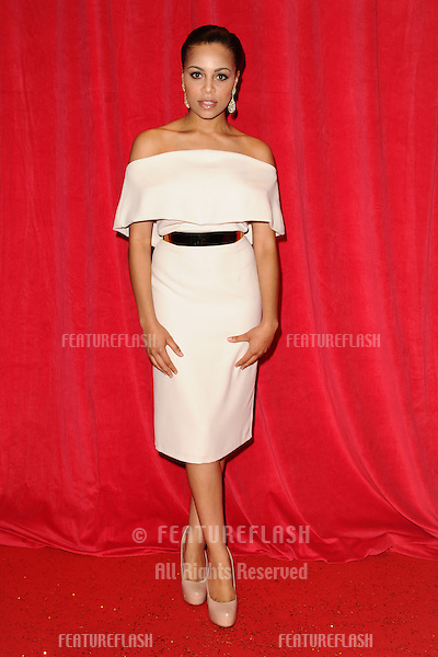 Trisha Merry arriving for the 2014 British Soap Awards, at the Hackney Empire, London. 24/05/2014 Picture by: Steve Vas / Featureflash