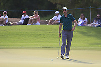 Ross Fisher (ENG) on the 15th green during the 2nd round of the DP World Tour Championship, Jumeirah Golf Estates, Dubai, United Arab Emirates. 16/11/2018<br /> Picture: Golffile | Fran Caffrey<br /> <br /> <br /> All photo usage must carry mandatory copyright credit (© Golffile | Fran Caffrey)