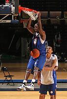 Joseph Uchebo at the NBPA Top100 camp at the John Paul Jones Arena Charlottesville, VA. Visit www.nbpatop100.blogspot.com for more photos. (Photo © Andrew Shurtleff)