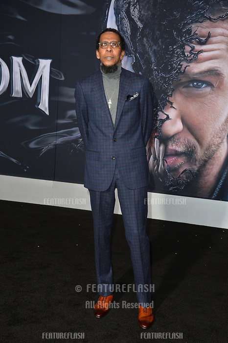 LOS ANGELES, CA. October 01, 2018: Ron Cephas Jones  at the world premiere for &quot;Venom&quot; at the Regency Village Theatre.<br /> Picture: Paul Smith/Featureflash