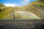 Skogafoss Waterfall Rainbow