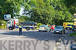 The scene of the crash in Aghadoe Tuesday morning