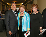 Torrington, CT 052017MK10 Jim and Susan (right) Cook with Joann Ryan gathered at the 19th Annual Warner Theatre Gala on Saturday. Michael Kabelka / Republican-American