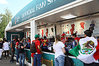 Offizieller Fanshop am Stadion - 20.06.2018: Portugal vs. Marokko, Gruppe B, 2. Spieltag, Luschniki Stadion Moskau