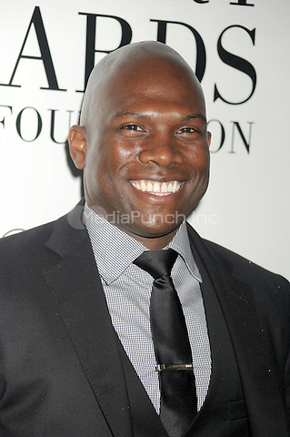 Kevin Navayne at the 40th annual Fifi awards at Alice Tully Hall, Lincoln Center on May 21, 2012 in New York City.. Credit: Dennis Van Tine/MediaPunch