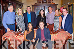 Richard Maes Killarney and Melissa Murphy, Cork who celebrated their engagement with their family and friends in the Killarney Avenue Hotel on Saturday back l-r: Ireen Maes, Els Darby, David Darby, Grainne, Geert, Marie and David Maes