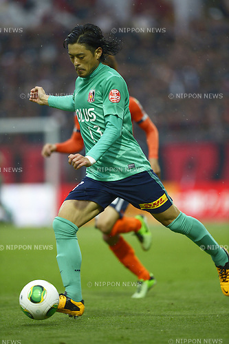 Keita Suzuki (Reds),<br /> APRIL 20, 2013 - Football / Soccer :<br /> 2013 J.League Division 1 match between Omiya Ardija 1-0 Urawa Red Diamonds at NACK5 Stadium Omiya in Saitama, Japan. (Photo by FAR EAST PRESS/AFLO)