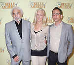 Producer Don Gregory, Joely Richardson and Director Steve Cosson attends the Meet & Greet for 'The Belle of Amherst' at the Shetler Studios on September 12, 2014 in New York City.