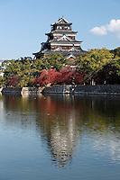Japan, Chūgoku (Southwest Honshu), Hiroshima Prefecture, Hiroshima: Hiroshima Castle | Japan, Chūgoku (Suedwest Honshu), Praefektur Hiroshima, Hiroshima: Burg Hiroshima, auch Karpfenburg genannt