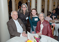 Occidental College hosts the Celebration of Access & Opportunity Reception for donors and scholarship recipient students on Feb. 27, 2017 on Branca Patio.<br /> (Photo by Marc Campos, Occidental College Photographer)