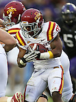 Iowa State Cyclones running back Shontrelle Johnson (21) in action during the game between the Iowa State Cyclones and the TCU Horned Frogs  at the Amon G. Carter Stadium in Fort Worth, Texas. Iowa State defeats TCU 37 to 23....