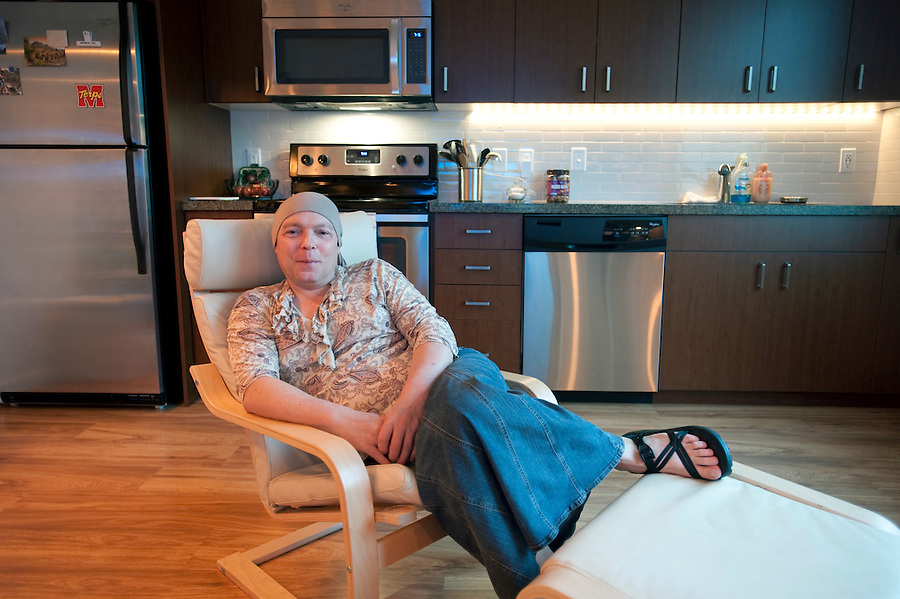 Jamie Shupe, who is the first legally non-bianry person in the United States at their home in Portland, Oregon Thursday June 14, 2016. (Photo by Natalie Behring for the Guardian)
