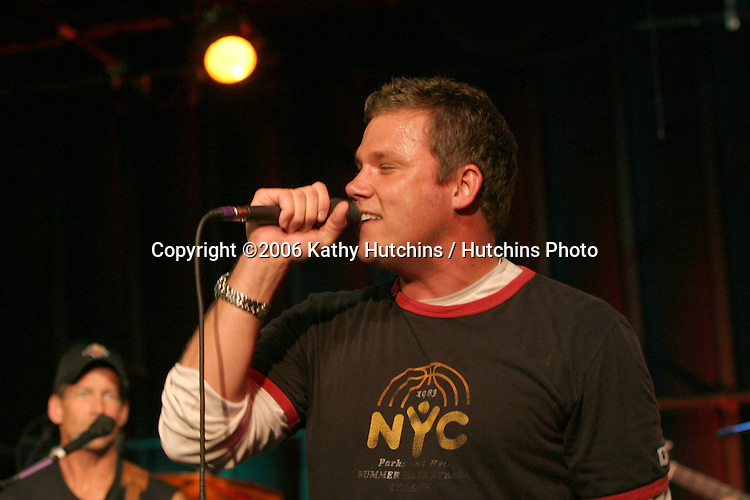 Bob Guiney.Band From TV Rehearsals (Includes James Denton, Bob Guiney, Hugh Laurie, Bonnie Sommerville, and Greg Grunberg, along with the support of other musicians).Centerstaging Studios.Burbank, CA.August 26, 2006.©2006 Kathy Hutchins / Hutchins Photo....