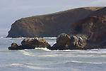 Rockaway Beach in Pacifica,  Mori Point