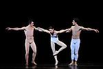 TROISIEME SYMPHONIE DE GUSTAV MAHLER....Choregraphie : NEUMEIER John..Decor : NEUMEIER John..Lumiere : NEUMEIER John..Avec :..LE RICHE Nicolas..BULLION Stephane..MOUSSIN Delphine..Lieu : Opera Bastille..Ville : Paris..Le : 11 03 2009..© Laurent PAILLIER / photosdedanse.com