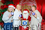 L-R Mags Savage Bell, Sandra Maher and Rita Holly, who are coaches from WW health and wellbeing, pictured with Santa in the Manor West shopping centre last Sunday wishing all their members in Kerry a Happy Christmas and a slimmer New Year.
