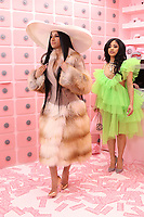 NEW YORK NY- APRIL 7: Cardi B and Hennessy Carolina at Beautycon Festival NYC 2019 Day 2 at the Javits Center in New York City on April 7, 2019. <br /> CAP/MPI/WG<br /> &copy;WG/MPI/Capital Pictures