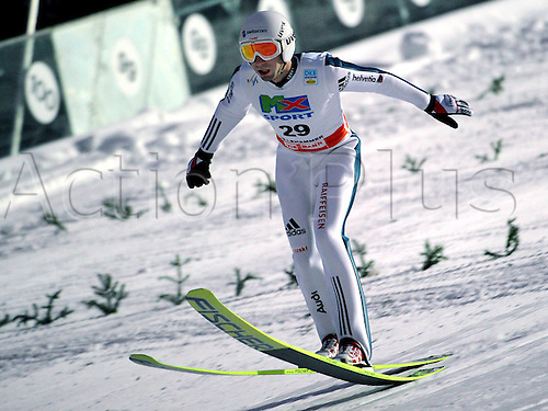 Pictures Ski Nordic FIS WC Lillehammer Norway 06 Dec 09 Ski Nordic Nordic Combination Ski jumping FIS World Cup Lillehammer Picture shows Ronny Heer SUI.